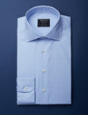 Classic Blue Dress Shirt