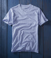 Glacier Blue V-neck t Shirt