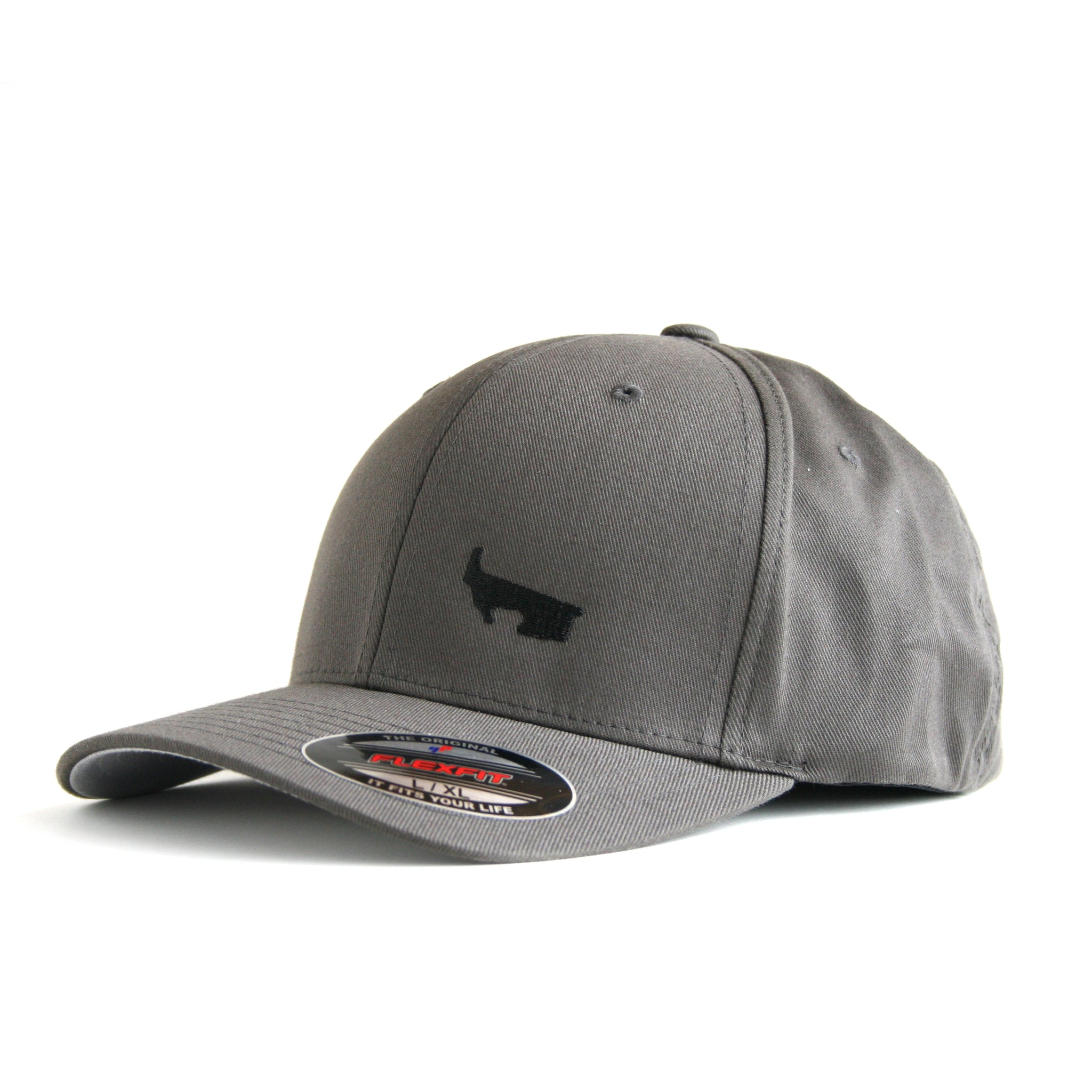 BRG Logo Hat - Dark Gray Flexfit