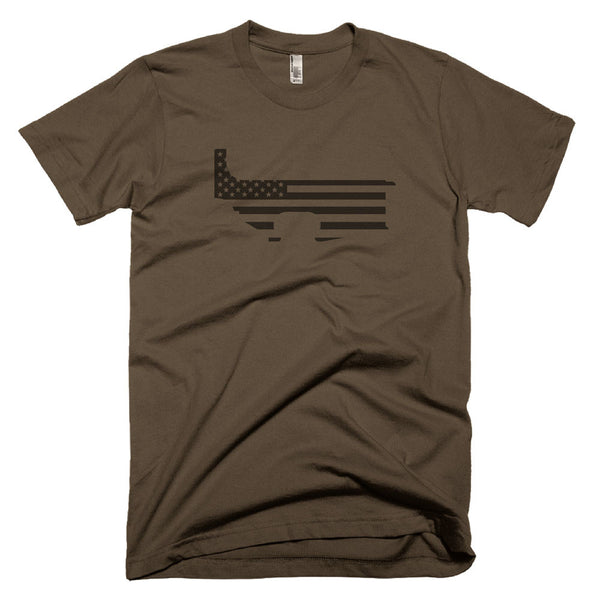 Patriot Lower - Army - Black Rifle Garb - AR15 t-shirt