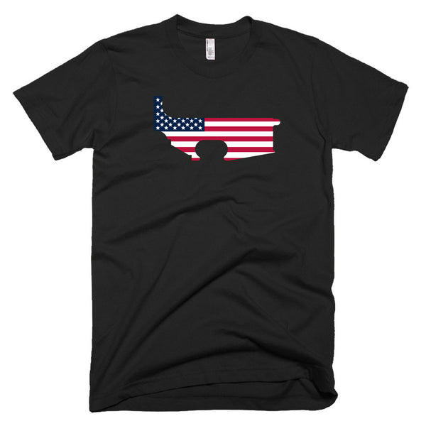 Patriot Lower - Black - Black Rifle Garb - AR15 t-shirt