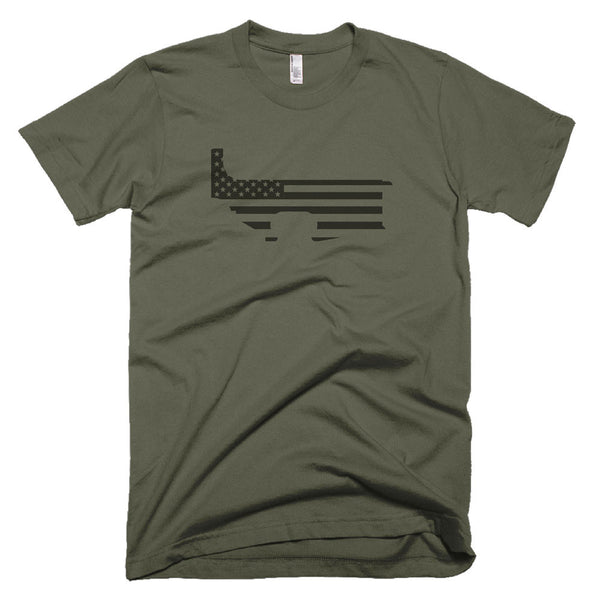 Patriot Lower - Lieutenant - Black Rifle Garb - AR15 t-shirt