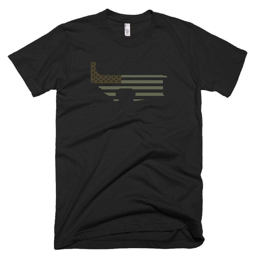 Patriot Lower - Tactical - Military - Black Rifle Garb - AR15 t-shirt