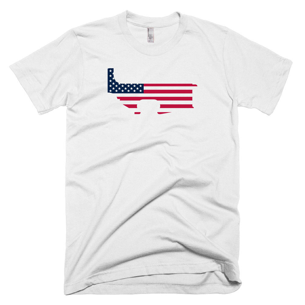 Patriot Lower - White - Black Rifle Garb - AR15 t-shirt