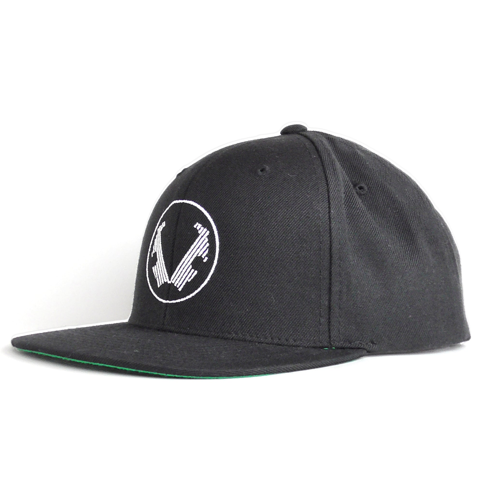 Winged Lowers Hat - Black