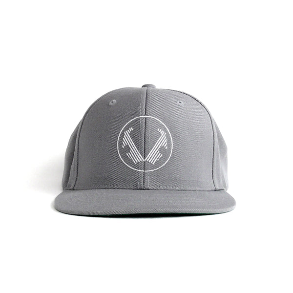 Winged Lowers Hat - Gray