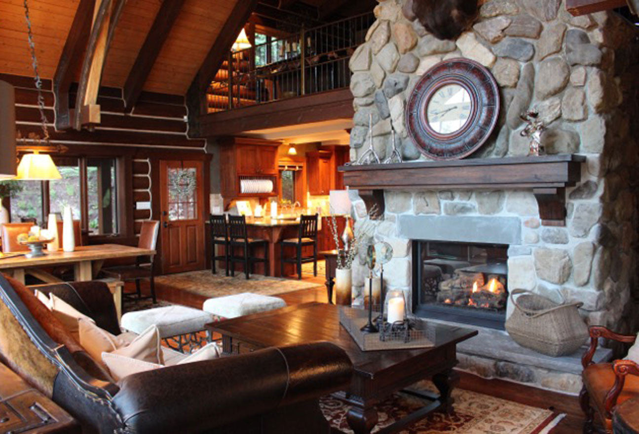Main room of the Eagles Nest Resort in Sundance