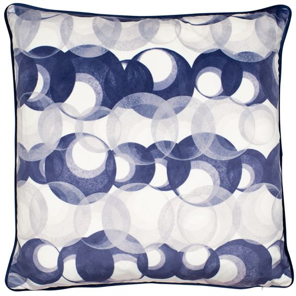 KRISHAN CUSHION - NAVY 45 X 45CM