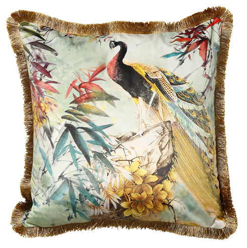 D - Shiva 45x45cm Cushion, Green