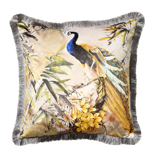 D - Shiva 45x45cm Cushion, Blue