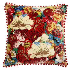 BLOOM CUSHION - RUBY 50 X 50CM