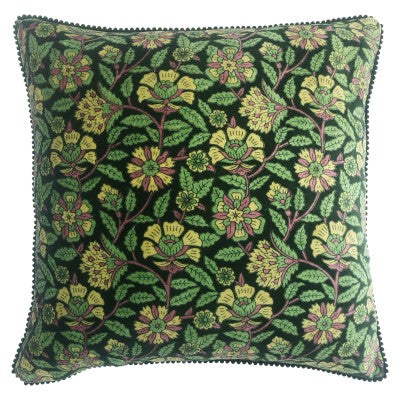 LAPSANG CUSHION - GREEN 45 X 45CM