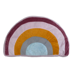KIDS RAINBOW CUSHION - MULTI 23 X 40CM