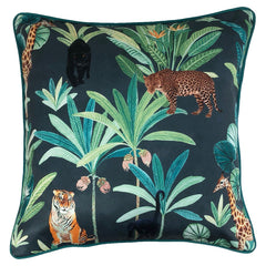 RANTHAMBORE CUSHION - MIDNIGHT 50 X 50CM
