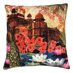 RED FORT CUSHION - MULTI 50 X 50CM