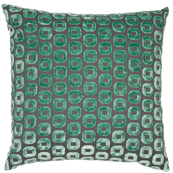 BENTLEY CUSHION - GREEN 45 X 45CM