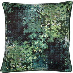 HUDSON CUSHION - GREEN 45 X 45CM