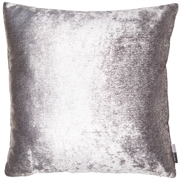 D - PLATINUM CUSHION - SILVER 45 X 45CM