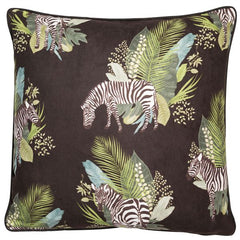 ZEAL CUSHION - BLACK 45 X 45CM
