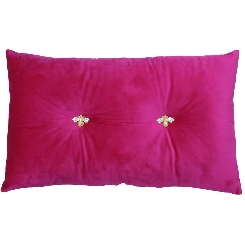 BUMBLE BEE CUSHION - PINK 30 X 50CM