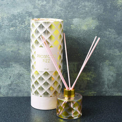Deco Glam Glass Reed Diffuser Prosecco Scent 100ml
