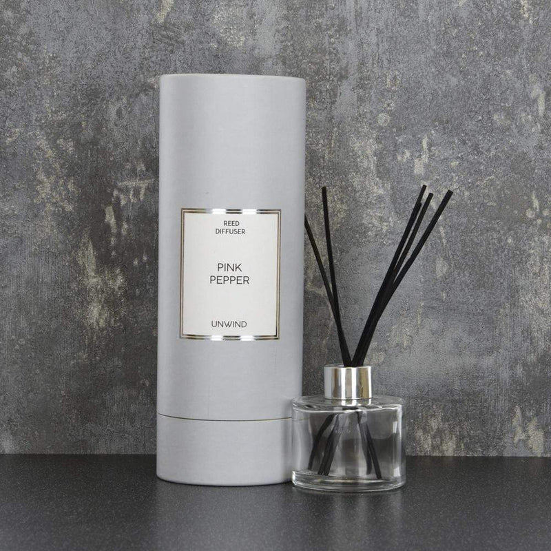 Simple Large Reed Diffuser in Gift Box Pink Pepper Scent 150ml