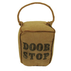 Canvas Doorstop with Rope handles