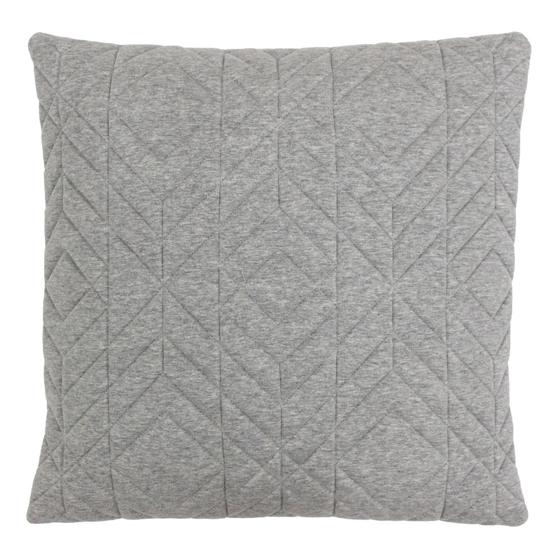 D - CONRAN CUSHION - GREY 45 X 45CM