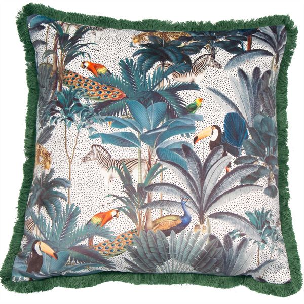 CAO FERAO FUN CUSHION - GREEN 45 X 45CM