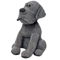 Doorstop - Herringbone Dog