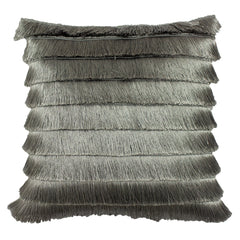 FLICKER CUSHION - SILVER 45 X 45CM