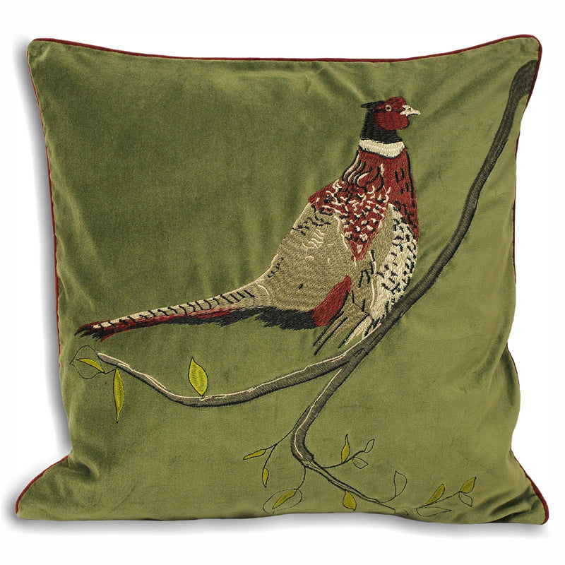 HUNTER CUSHION - GREEN 45X45CM