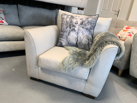 B - Loversall Cushion Armchair RRP £1099