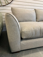 Cruise medium 3 seater standard back sofa in grey weave fabric RRP £1439