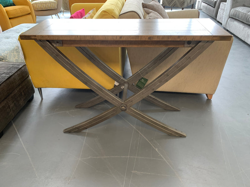 Baker Brooklyn Industrial style console table RRP £539