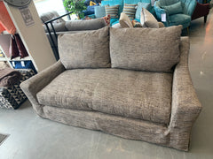 Radley by Collins & Hayes 3 seater standard back sofa in brown weave fabric with loose removable covers