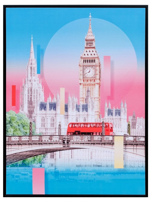 Big Ben Colourful Canvas Print wall art