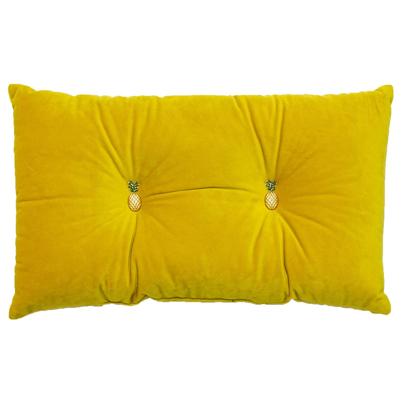 PINEAPPLE CUSHION - Yellow 30 X 50CM