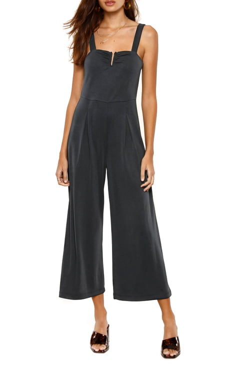 Lily jumpsuit by Heartloom featured on model. Found at Uni+Koncept Lifestyle Boutique in Waterloo  black jumpsuit romper