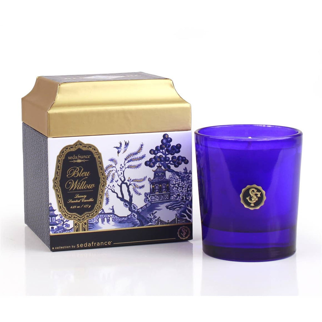 Seda France  - Bleu Willow Candle
