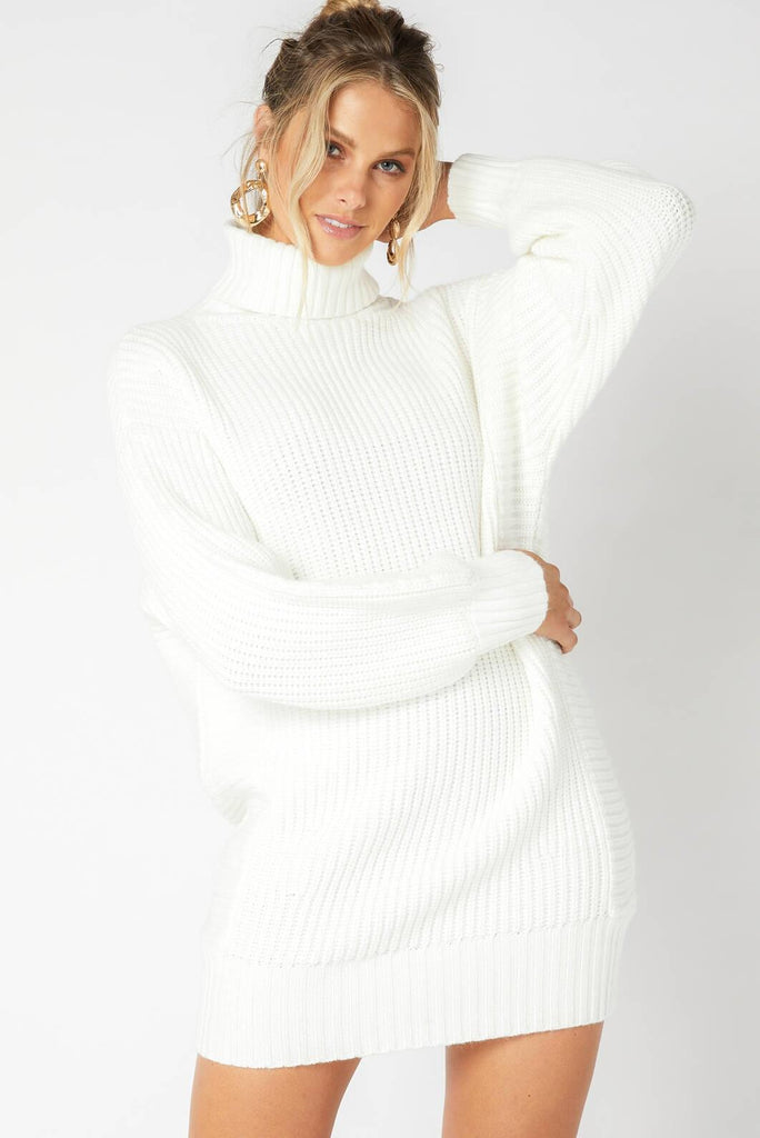 Echoes Knit Dress (cream)