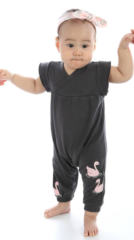 Organic Cotton Sleeveless Coverall