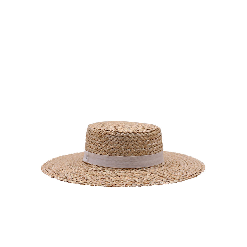 Lerici Straw Boater (wht)