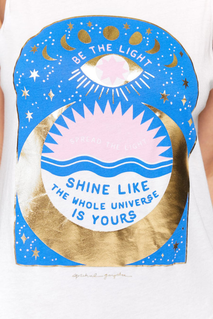 Shine Muscle Top