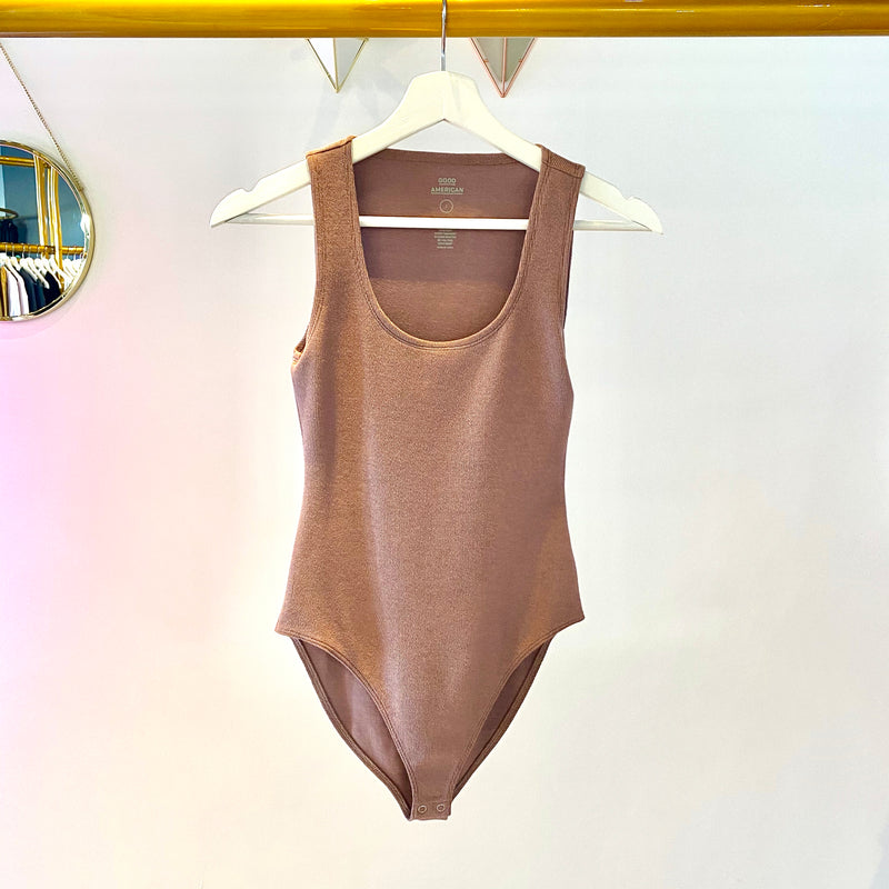 Good American - Feel Good bodysuit (dusk)