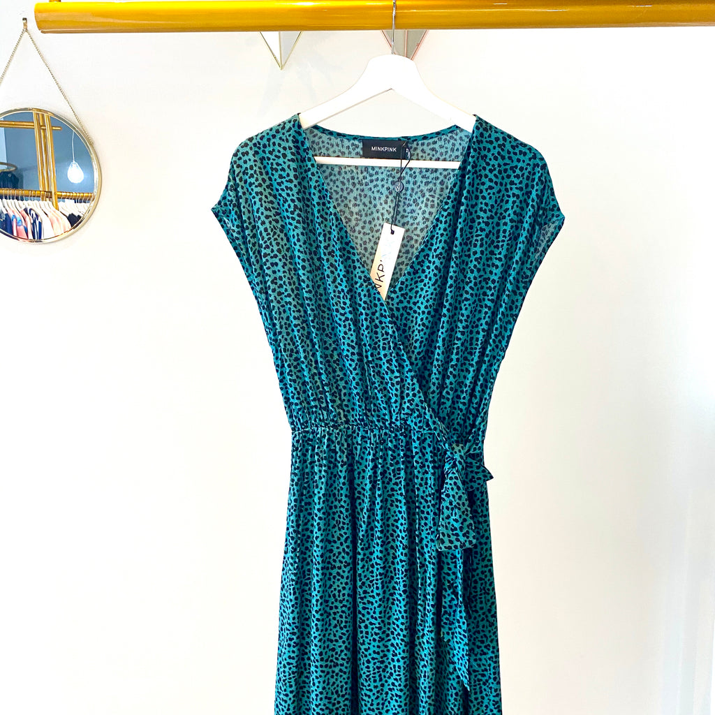 MinkPink - Eyes wide wrap dress