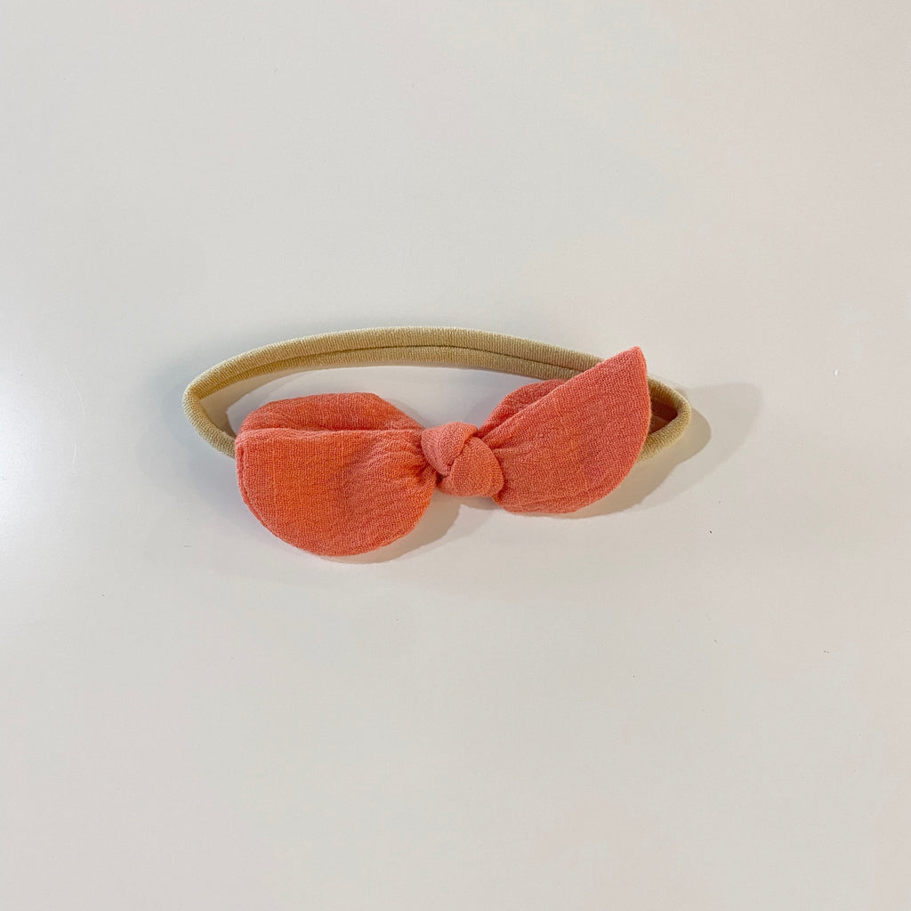 Little Peach Baby Headband