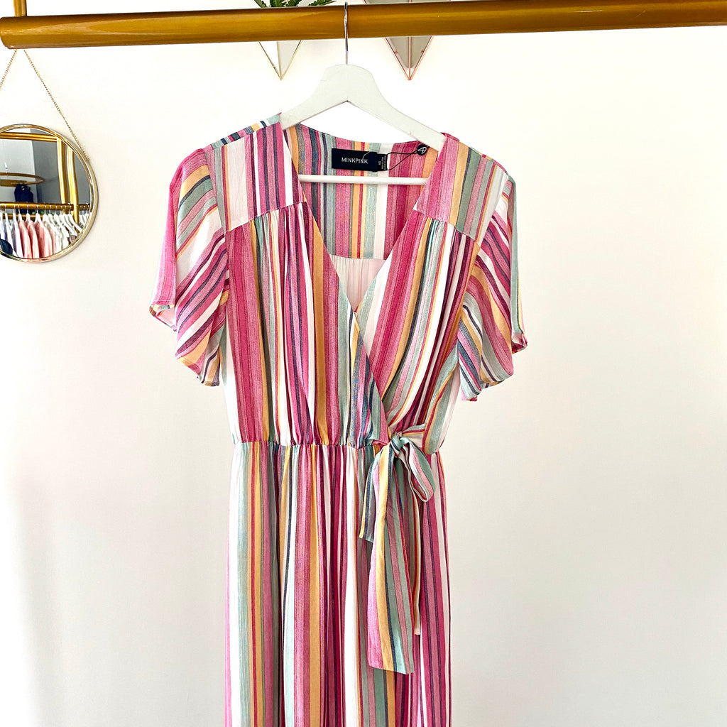 MinkPink - Kita Stripe Dress