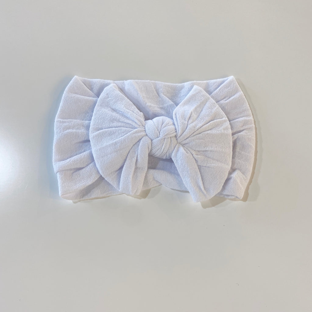Ivory Baby Bow