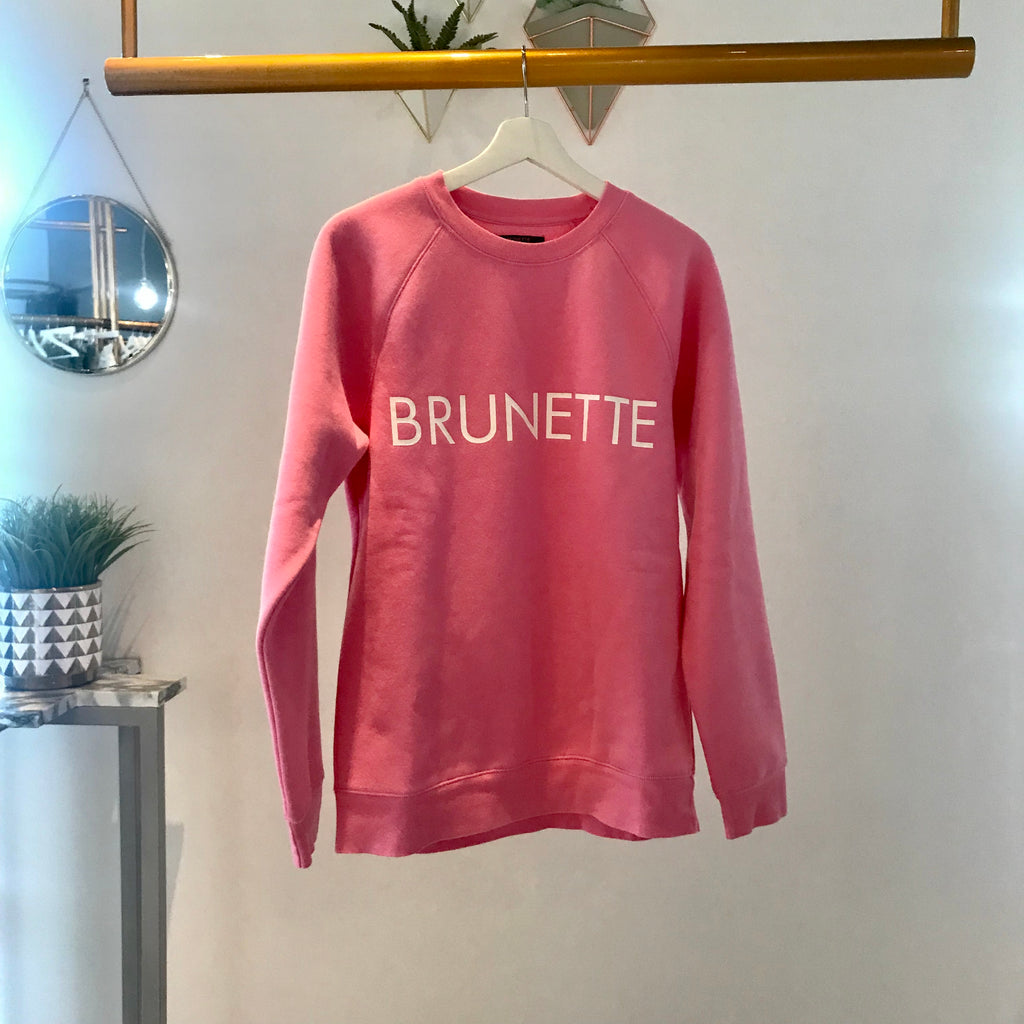Brunette the Label - Brunette Crew (hot pink)
